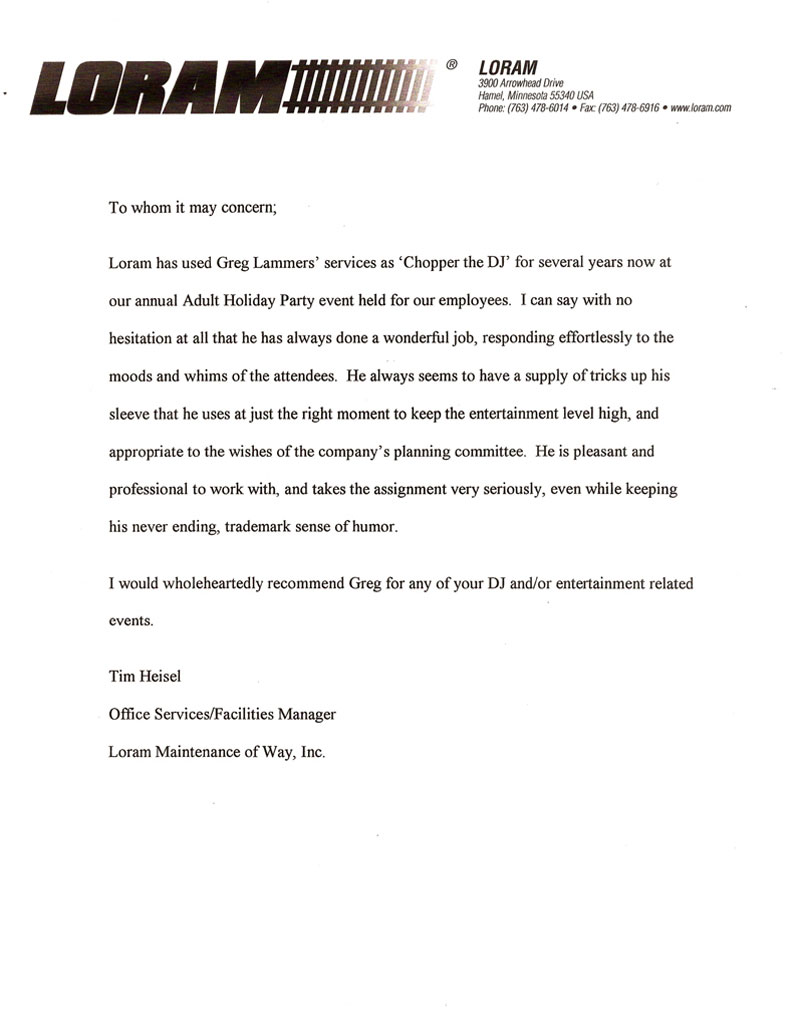 corporate party letters of recommendation 01a 02a 03a 04a 1 of 3